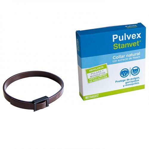 Pulvex collar antiparasitario natural de aceites esenciales para perros
