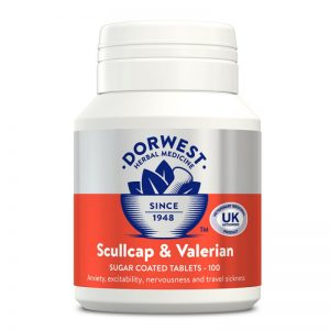 Valeriana y escutelaria en pastillas Dorwest