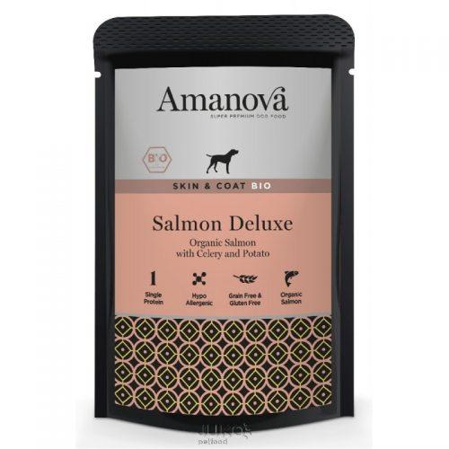 Amanova Salmón dogs de luxe Skin & Coat BIO