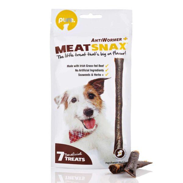 Meatsnax antiparasitario natural