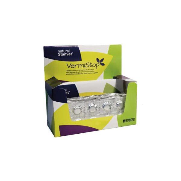 VermiStop Natural stanvet. 1 blister de 10 comprimidos