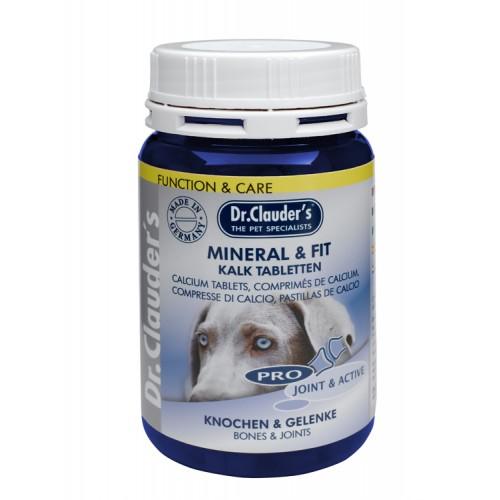 Comprimidos de calcio y minerales de Dr Clauder's