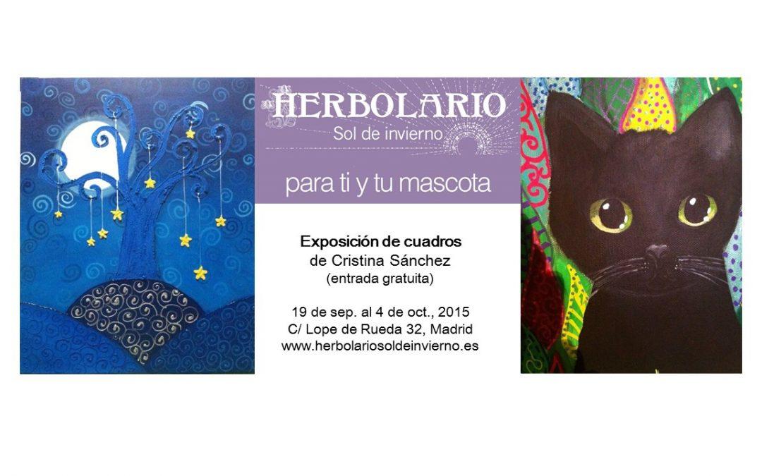 Exposición de cuadros de Cristina Sánchez