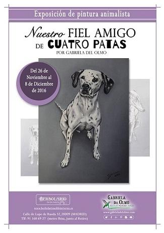 Exposición animalista de Gabriela del Olmo
