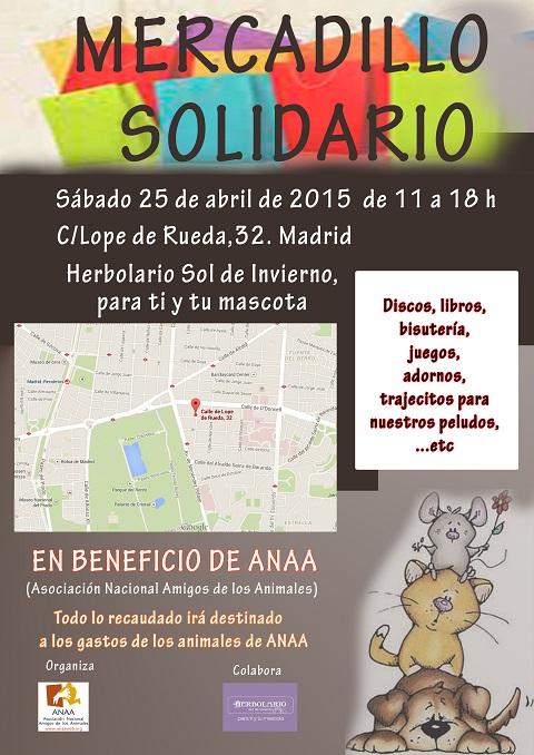 Mercadillo solidario Anaa