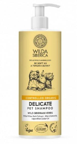 Champú piel sensible de 400ml para perros y gatos.Contiene corteza y raíz de sauce blanco rico en salicina, que calma la piel.