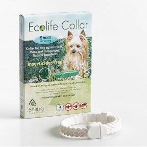Efectivo para un período de 4 meses. Neutraliza los malos olores y le da a tu mascota un olor agradable. Apto para cachorros.