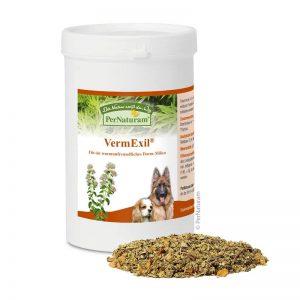 Antiparasitario interno con artemisa para perros. Crea un ambiente intestinal hostíl para parásitos y gusanos.