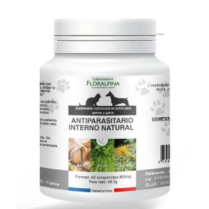 Antiparasitario interno natural para perros y gatos