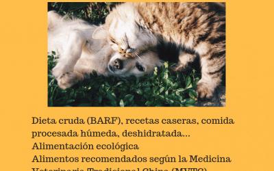 Taller de dieta natural para perros y gatos