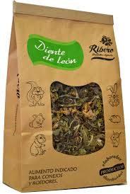 Hierba diente de león para conejos y roedores 100 gramos