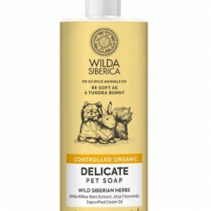 Jabón piel sensible de 400ml para perros y gatos.Contiene corteza y raíz de sauce blanco rico en salicina, que calma la piel.