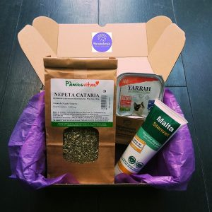 pack regalo productos naturales para gatos