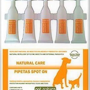 Pipetas naturales para perros y gatos